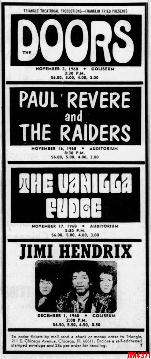 Chicago Coliseum - Print Ad