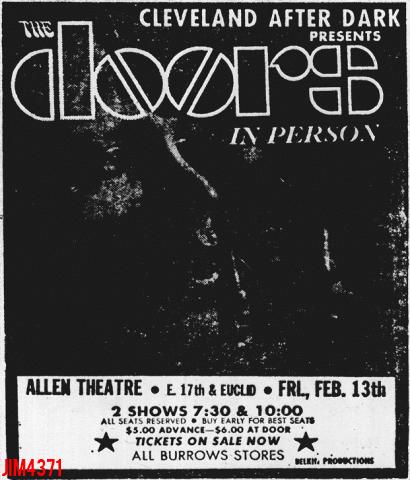 Allen Theatre - Print Ad