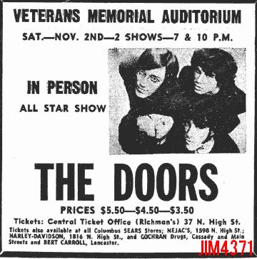 Columbus 1968 - Print Ad
