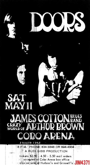 Detroit Cobo Hall - Print Ad