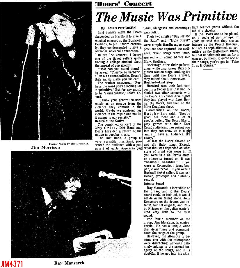 Hartford 1967 - Review