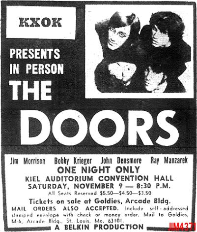 Kiel Auditorium - Print Ad