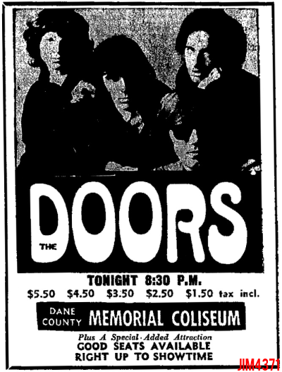 Dane County Memorial Coliseum - Print Ad