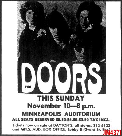 Minneapolis Auditorium - Print Ad