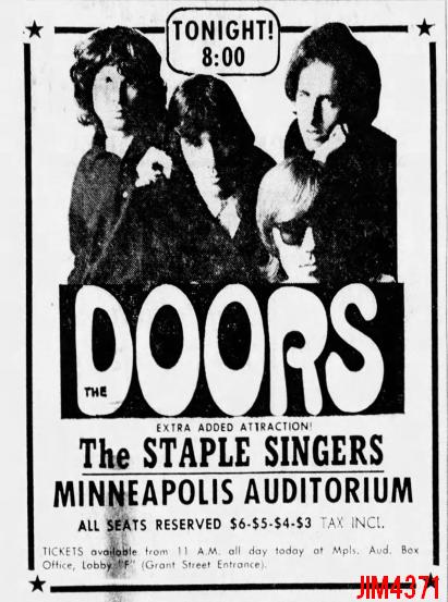 Minneapolis 1969 - Print Ad