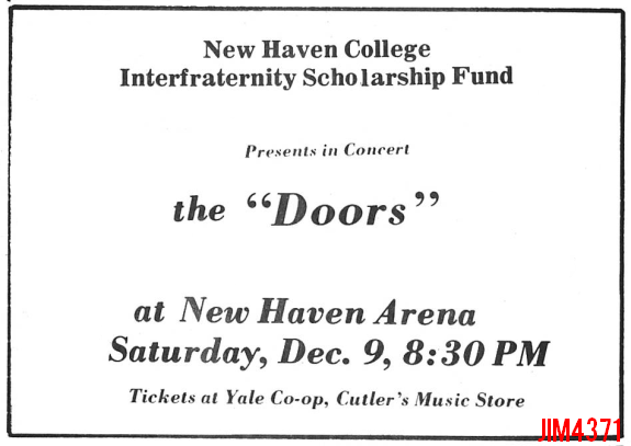 New Haven 1967 - Print Ad