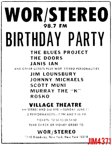Village Theatre - Print Ad