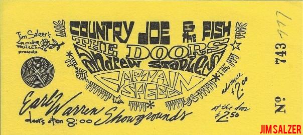 Earl Warren Showgrounds - Ticket