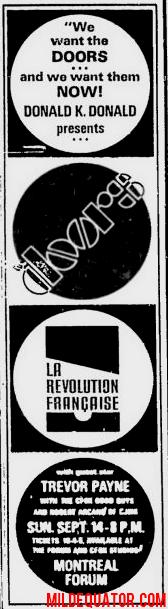 Montreal Forum - Print Ad