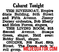 The Ondine Concert Listing