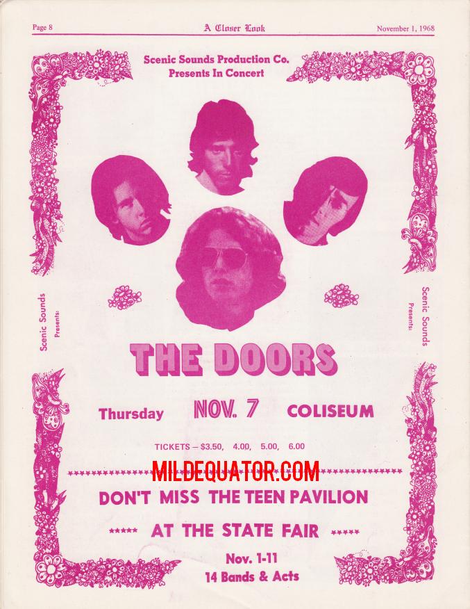 Phoenix November 1968 - Print Ad