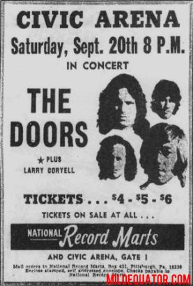 Pittsburgh Civic Arena - Print Ad