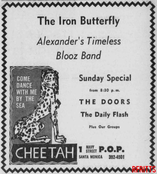 Cheetah May 1967 - Print Ad