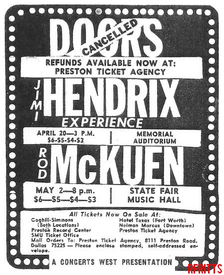 Dallas Memorial Auditorium - Print Ad