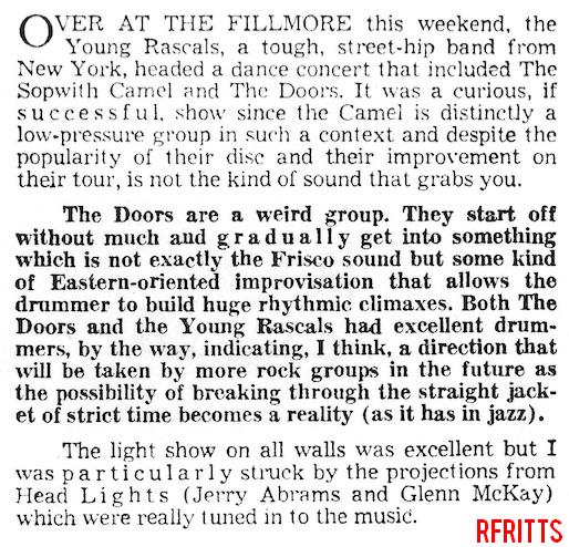 Fillmore Auditorium - Review