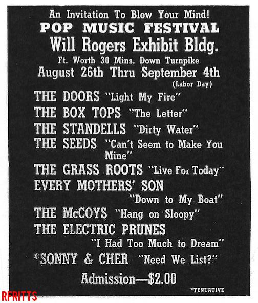 Fort Worth 1967 - Print Ad