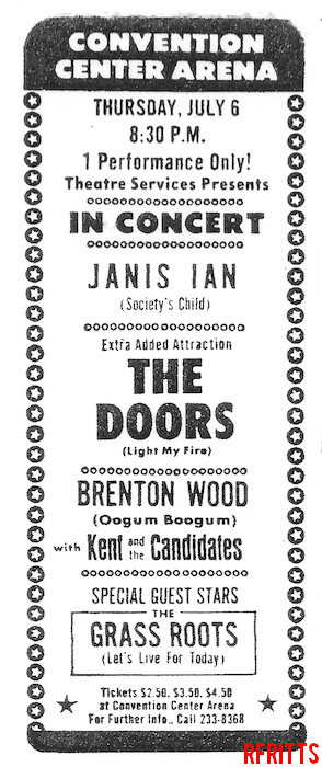 The Doors - Fresno 1967