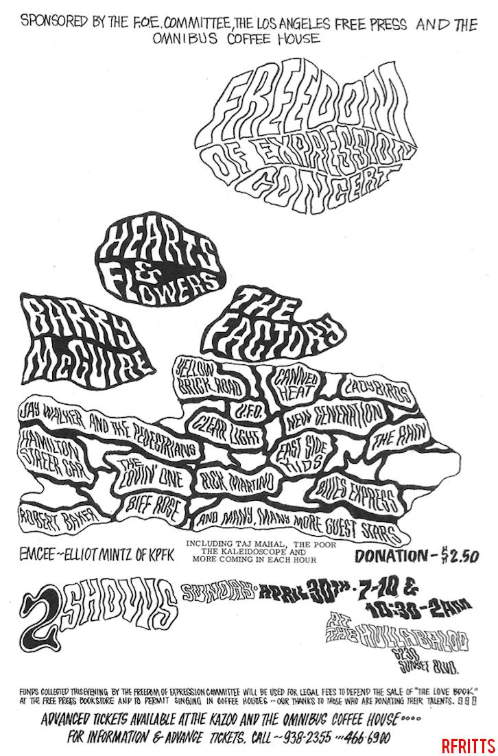 Hullabaloo April 1967 - Print Ad