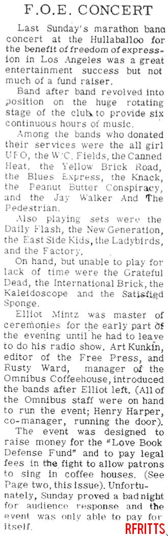 Hullabaloo April 1967 - Review