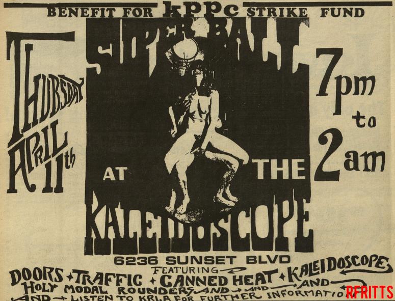 The Doors - Kaleidoscope 1968