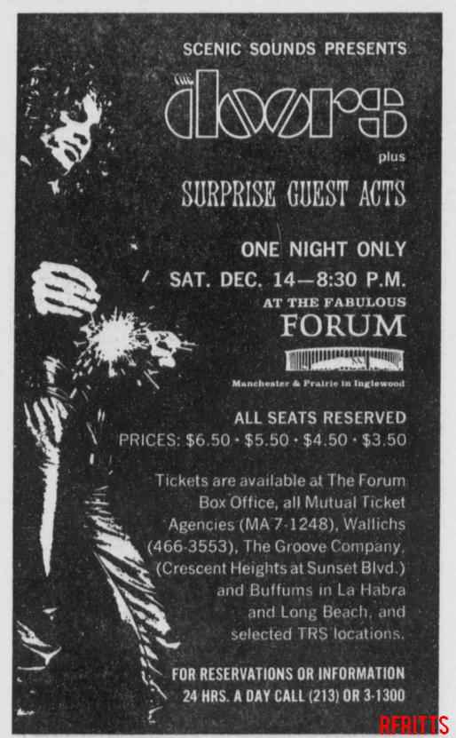 L.A. Forum 1968 - Print Ad