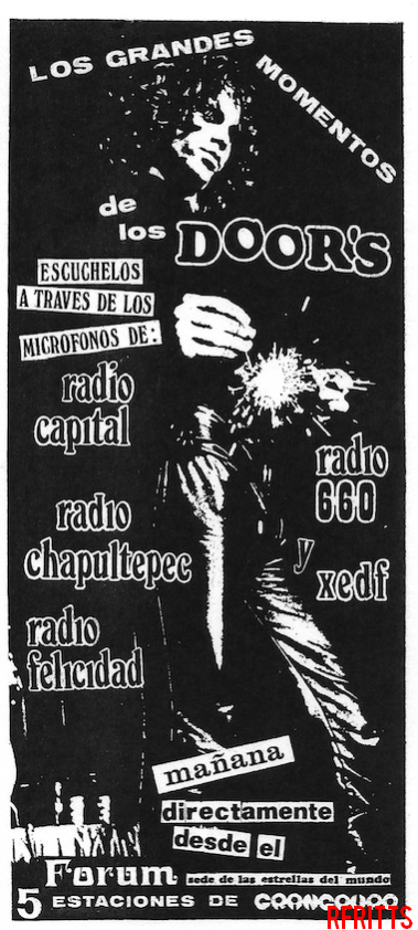 Mexico City 1969 - Print Ad
