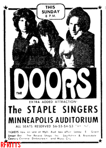 Minneapolis 1969 - Print Ad #1