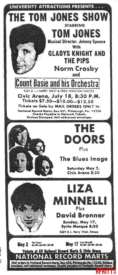 The Doors - Pittsburgh 1970