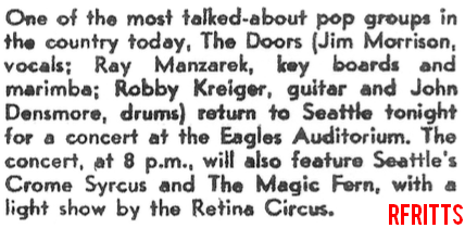 Seattle 1967 - Article