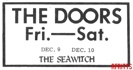 Seawitch 1966 - Print Ad