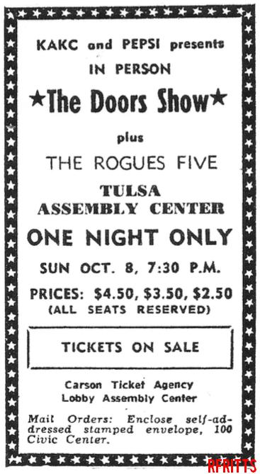 The Doors - San Diego 1967