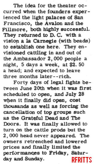Washington 1967 - Review