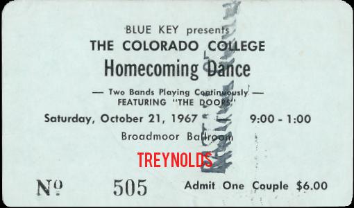 Colorado College - Ticket