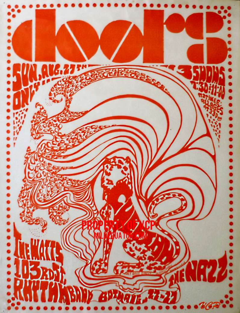 The Doors - Cheetah August 1967 - Poster