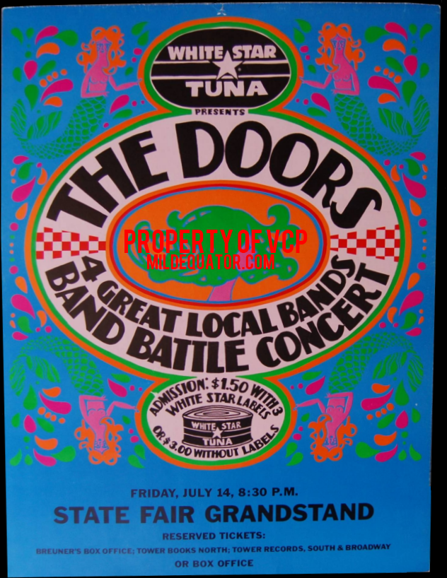 The Doors - State Fair Grandstand - Poster