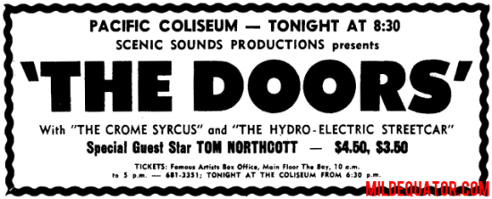 Pacific Coliseum - Milwaukee Arena Print Ad
