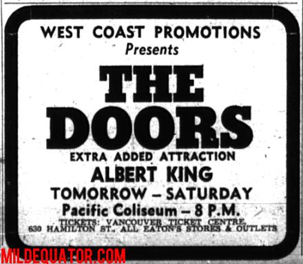 Vancouver Pacific Coliseum Print Ad