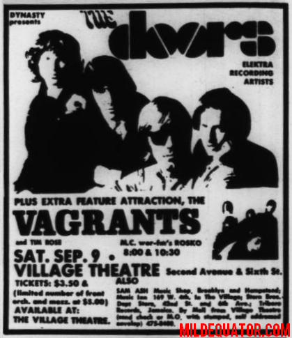 The Doors - Village Theater - Print Ad