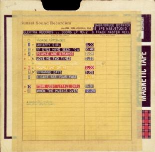 The Doors Studio Dates & Info
